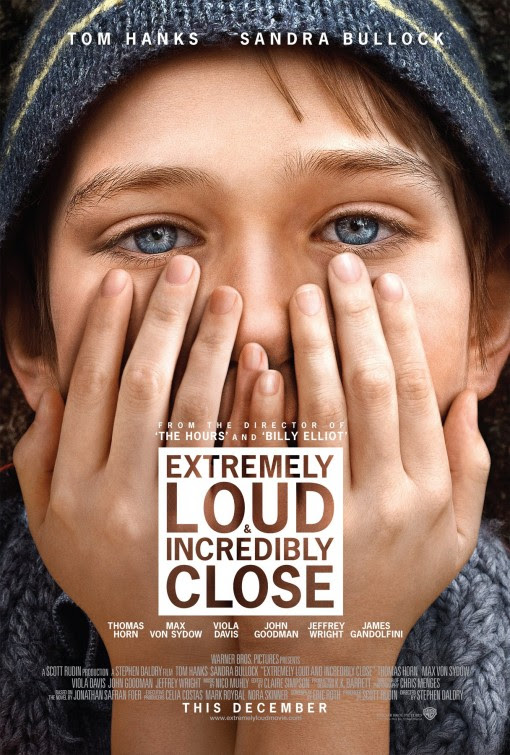 Resultado de imagen para extremely loud and incredibly close movie poster