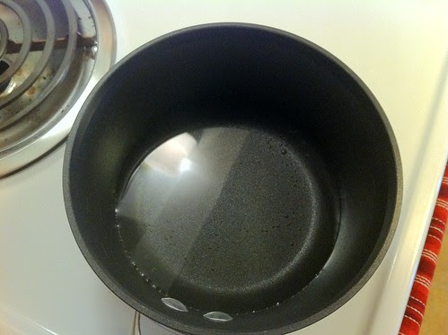 Small Pot of Water for Double Boiler
