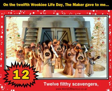 Twelve filthy scavengers,