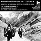 Constantin Brailoiu: The World Collection of Folk Music, Recorded Between 1913 and 1953, Vol. 4: Western, Northern and Central Europe & Eskimos