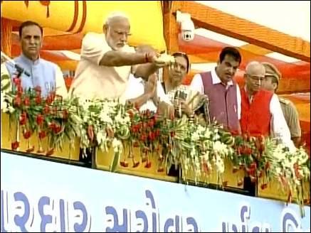 PM मोदी ने जन्मदिन पर देश को समर्पित की सरदार सरोवर बांध परियोजना