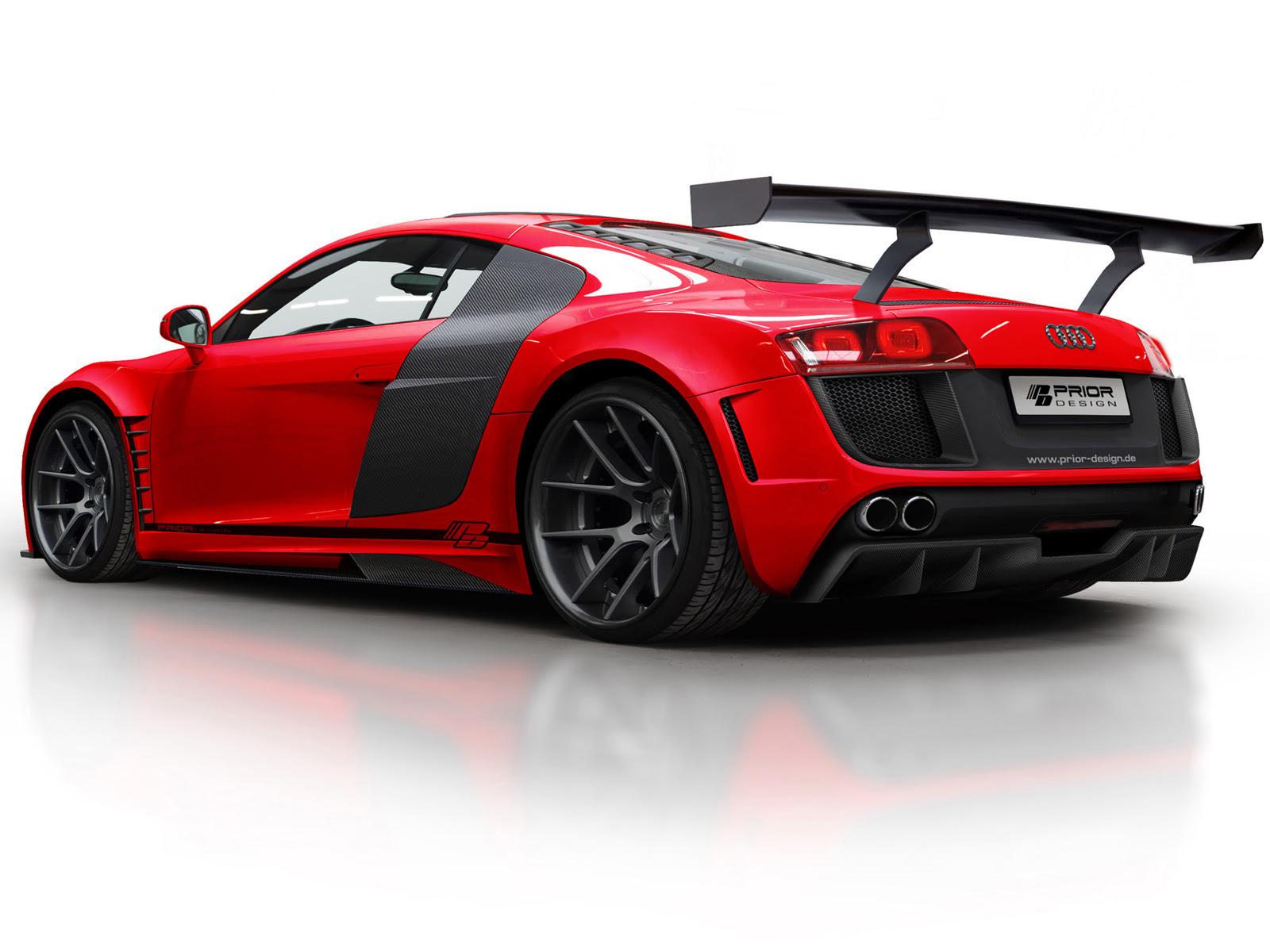 """Motores de Combustión Interna: Motores en """"V"""" y Audi R8"""