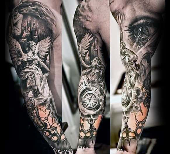 70 Unique Sleeve Tattoos For Men Aesthetic Ink Design Ideas