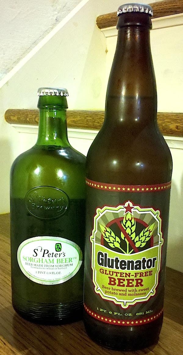Epic Glutenator & St. Peter's Sorgham Gluten Free Beer ...