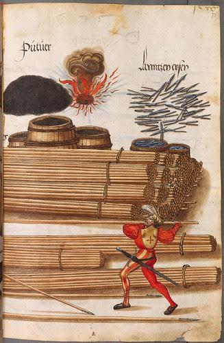 Landsknecht with pike spear