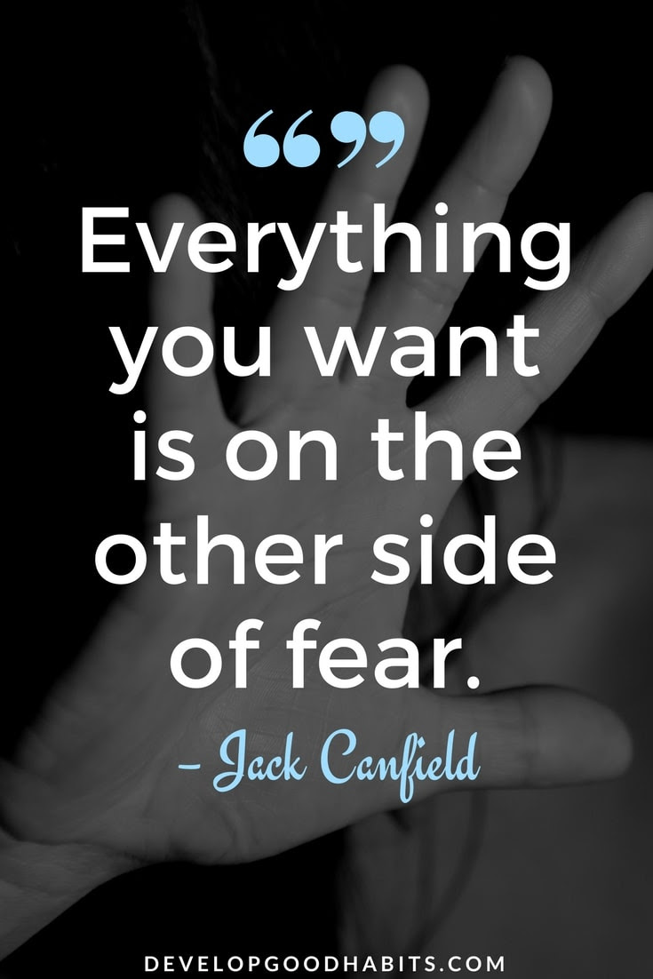 Fear Quotes Other Side Evolution Of She