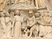 Demônio e Anjo da Guarda no Juízo Final, Notre Dame