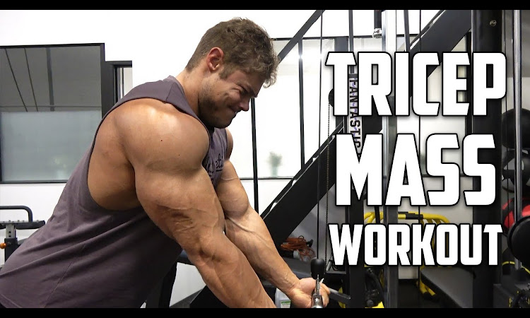 PURE Tricep Workout for MASS - Detailed Description