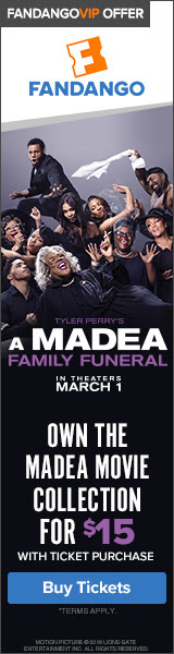 160x600 Fandango Offer: A Madea Family Funeral