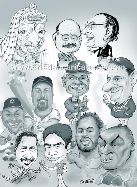 Joe torre, Arafat, Tyson,Felipe Alou etc.