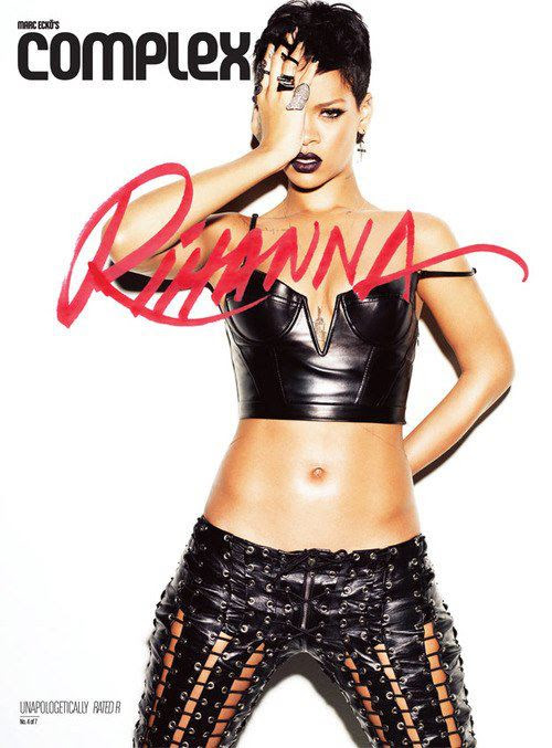 rihanna 2013 complex magazine rated R