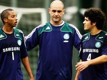 Ortigoza Marcos Treino Palmeiras 03/07/2009