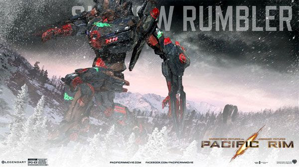 My own PACIFIC RIM Jaeger...known as the Shadow Rumbler.