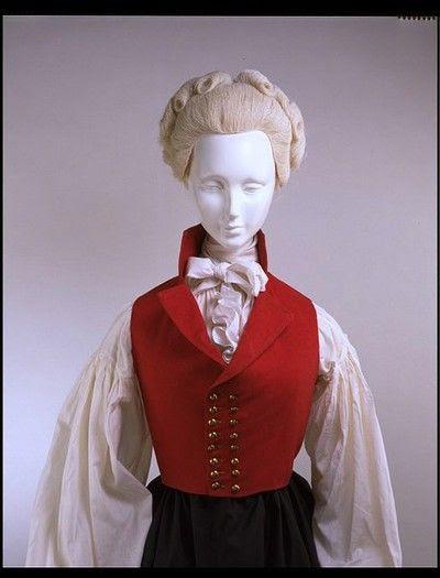 Riding Waistcoat | V Museum | c. 1790-1795