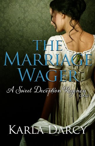 The Marriage Wager (Pride Meets Prejudice Regency Romance #3) by Karla Darcy