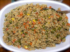 Vegetable Rice by Saroj