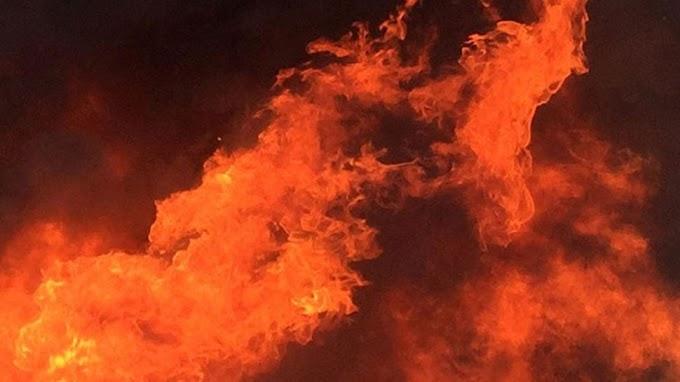दिनदहाड़े पति पर पेट्रोल छिड़क लगा दी आग, फिर पत्थर से कुचल-कुचल कर मार डाला