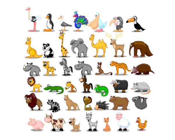 950 Gambar Kartun Binatang Burung Merak HD Terbaik