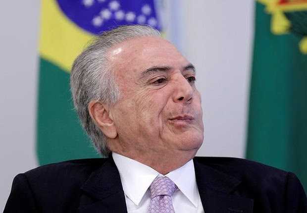 O presidente Michel Temer no Palácio do Planalto (Foto: Ueslei Marcelino/Reuters)