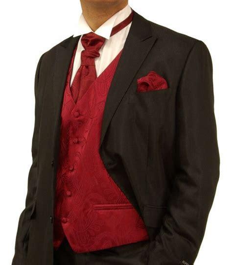 Red and Black Tux   My dream wedding   Pinterest   Black