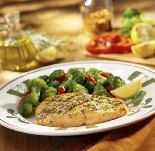 Olive garden copycat recipes herb grilled salmon for Who owns olive garden
