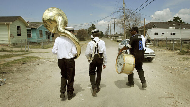 Treme Brass Band; credit: Mario Tama / Getty Images
