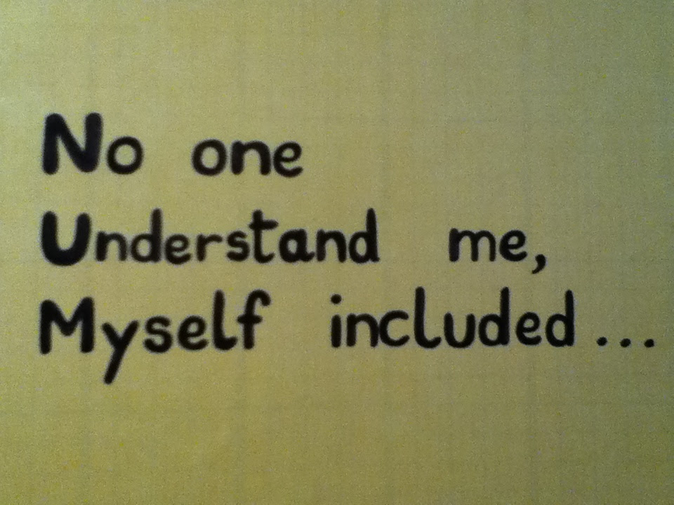 No One Understands Me Quotes No One Understands Me Quotes Quotesgram
