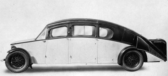 R-100 Burney Car