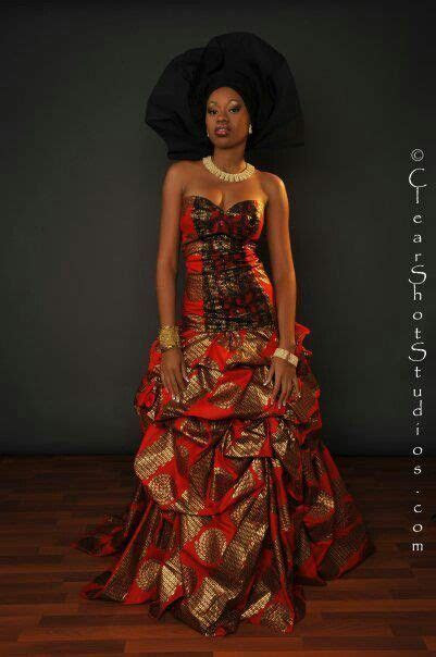7 Beautiful Ankara Aso Ebi Styles from Pinterest   Sharon