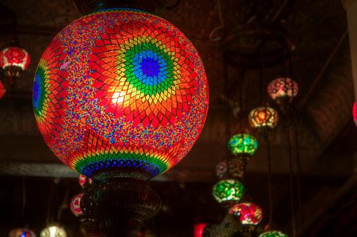 Rainbow lamp!