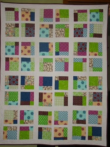 Disappearing 9 Patch Quilt