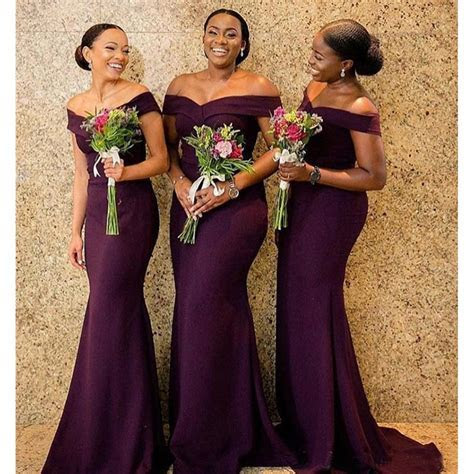 2019 South African Bridesmaid Dresses Summer Country
