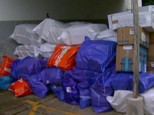 Produtos roubados foram comprados pela internet (Foto: Reprodução/TV Tribuna)