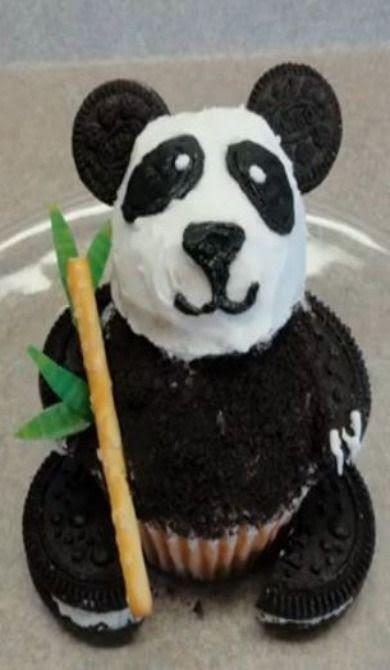 How to Make A Panda Cupcake  Foodista.com