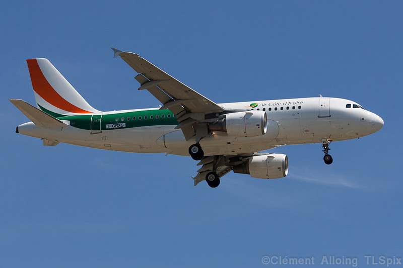 Air Cote d'Ivoire Airbus A319