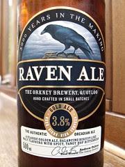 Orkney, Raven Ale, Scotland