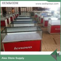 Mobile Counter Design For Mobile Shop Table Display Store Decoration