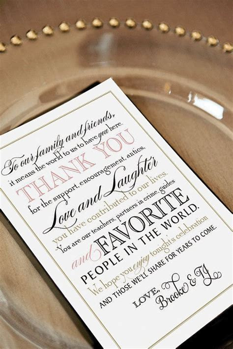 Wedding Thank You Note Wording   Photo Gallery of the