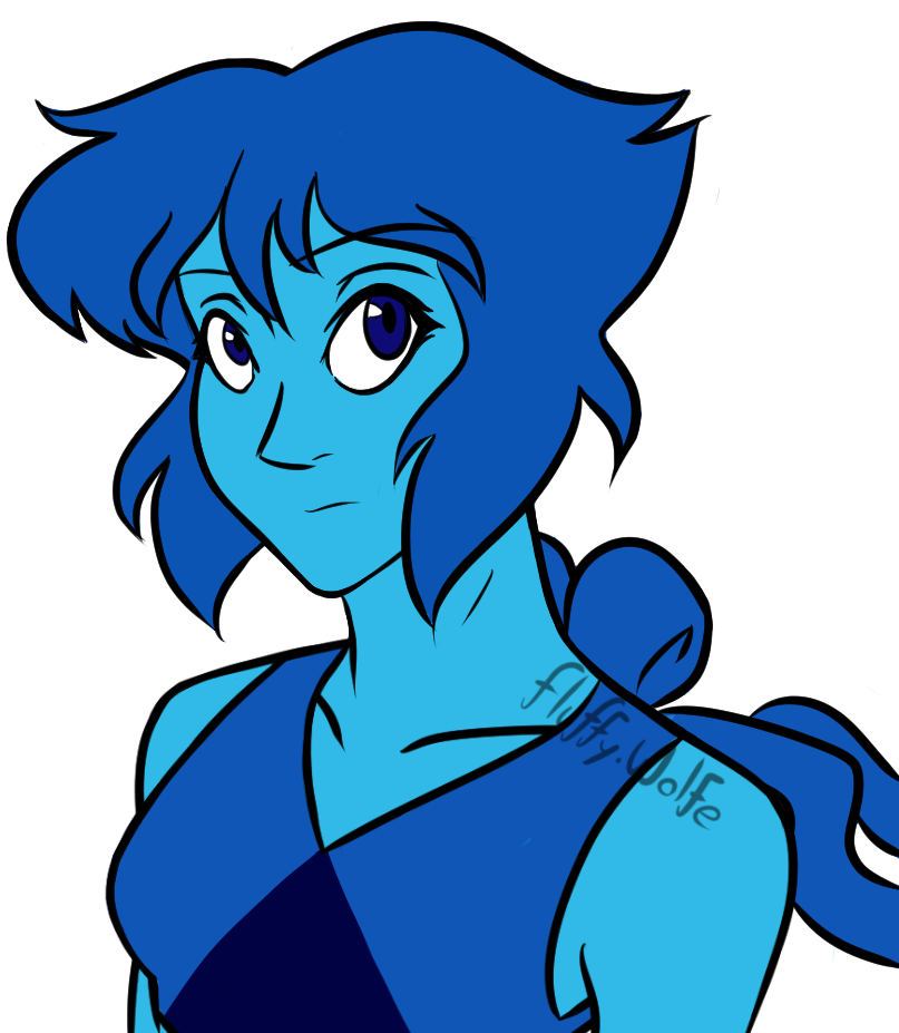 feels like I haven't drawn my blue wife in forever;; (Please consider reblogging!)