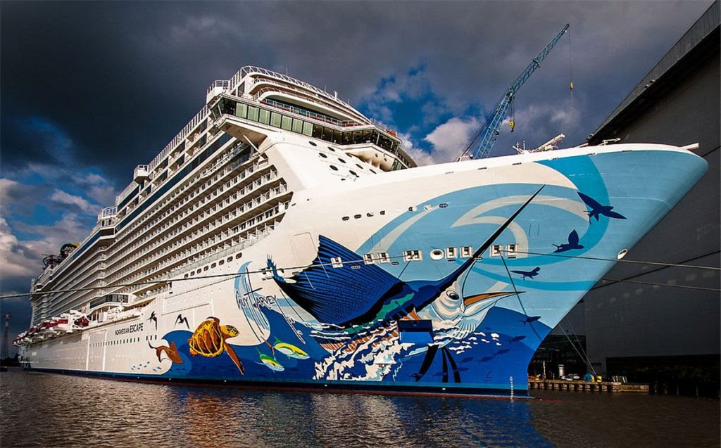 15 Most Expensive Cruise Ships In The World | #8. Norwegian Escape ($920 million)