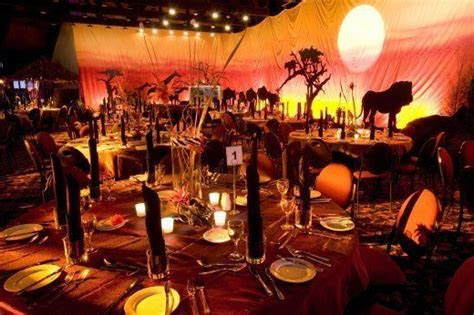 Talk about a completely Disney Lion King Inspired Wedding