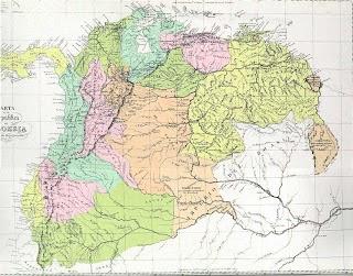 Países que formaban parte de la Gran Colombia