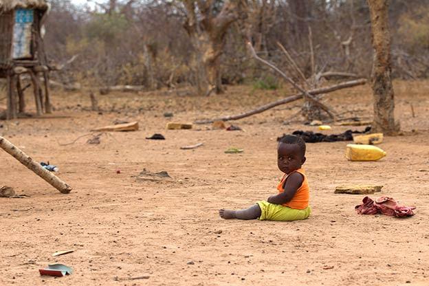 Devastating living conditions