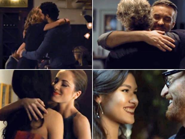 Casais comemoram Dia dos Namorados (Foto: Reprodução/YouTube)