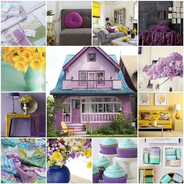 Purple &