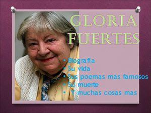 GLORIA FUERTES (por María Magdalena Roca Conesa)