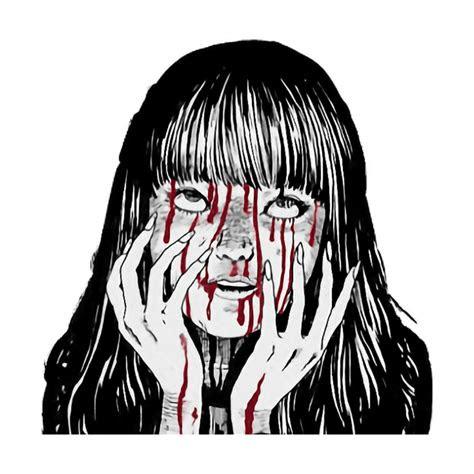 creepy horror scary remixit grunge aesthetic tumblr wei