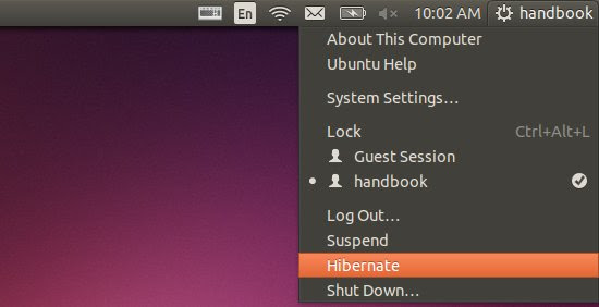 hibernate ubuntu 14.04