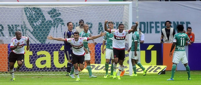 Ederson, Palmeiras x Flamengo (Foto: Marcos Ribolli)