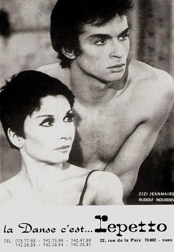Zizi Jeanmaire, Rudolf Nureyev